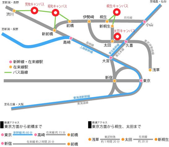 鉄道等路線図