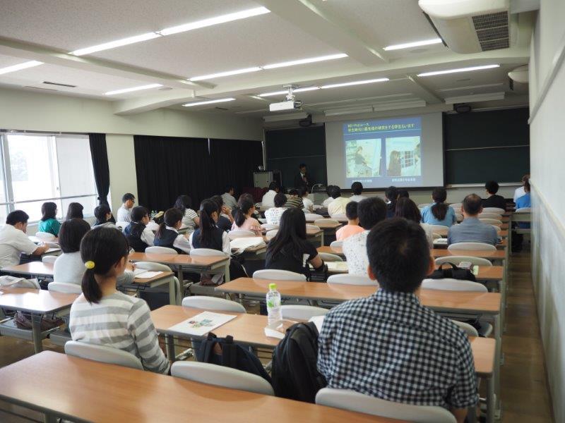 【<A>医学部医学科】学科紹介、体験授業、在学生による学生生活紹介などを行いました。