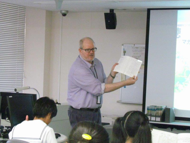 【<L-2>英語「多読」教材紹介】群馬大学の英語教育の特色である「多読」について紹介していました。