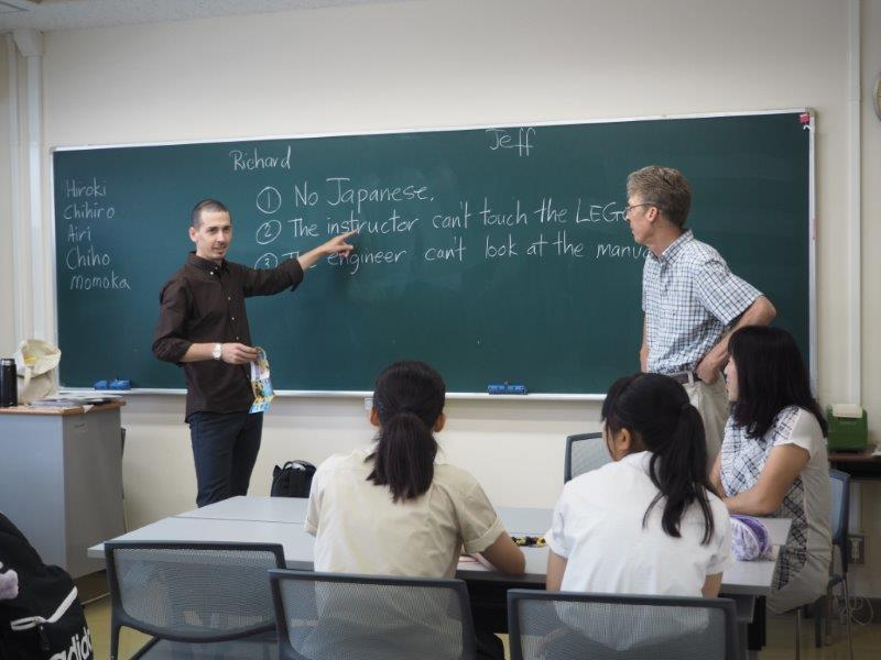 【<C-3,C-5>教養教育英語の体験授業】群馬大学生が受けている「教養教育英語」の授業を体験することができました。