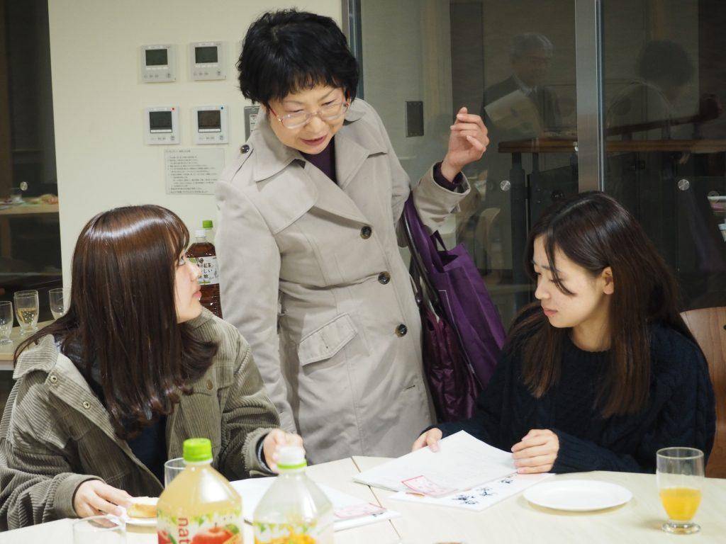 学生広報大使スタッフミーティング(第2回)の様子