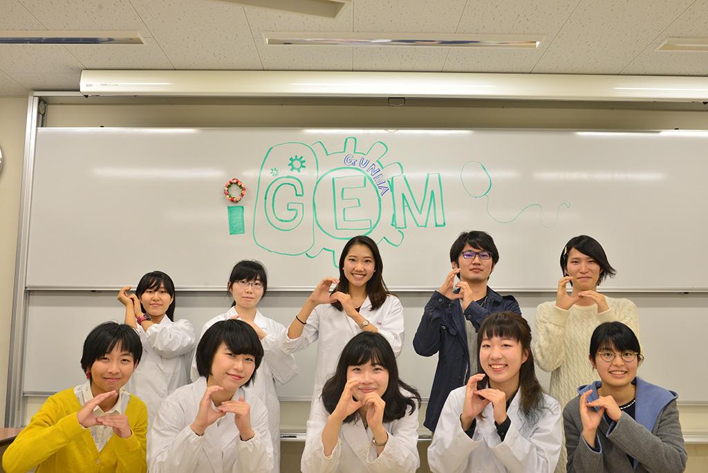 iGEMチームの集合写真